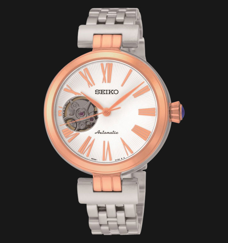 Seiko Ladies SSA862K1 Automatic Mechanical Open Heart Machtwatch
