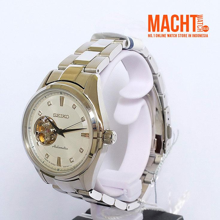 Seiko Presage SSA871J1 Automatic Mechanical Open Heart Sapphire Crystal Machtwatch