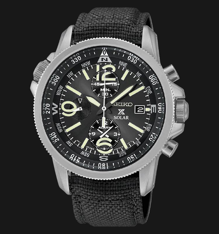Seiko SSC293P2 Prospex Solar Military Chronograph Machtwatch