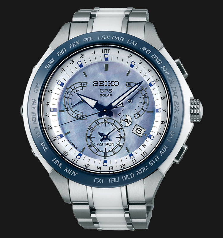 Seiko Astron SSE039J1 GPS Solar 8X Series Dual Time Limited Edition Machtwatch