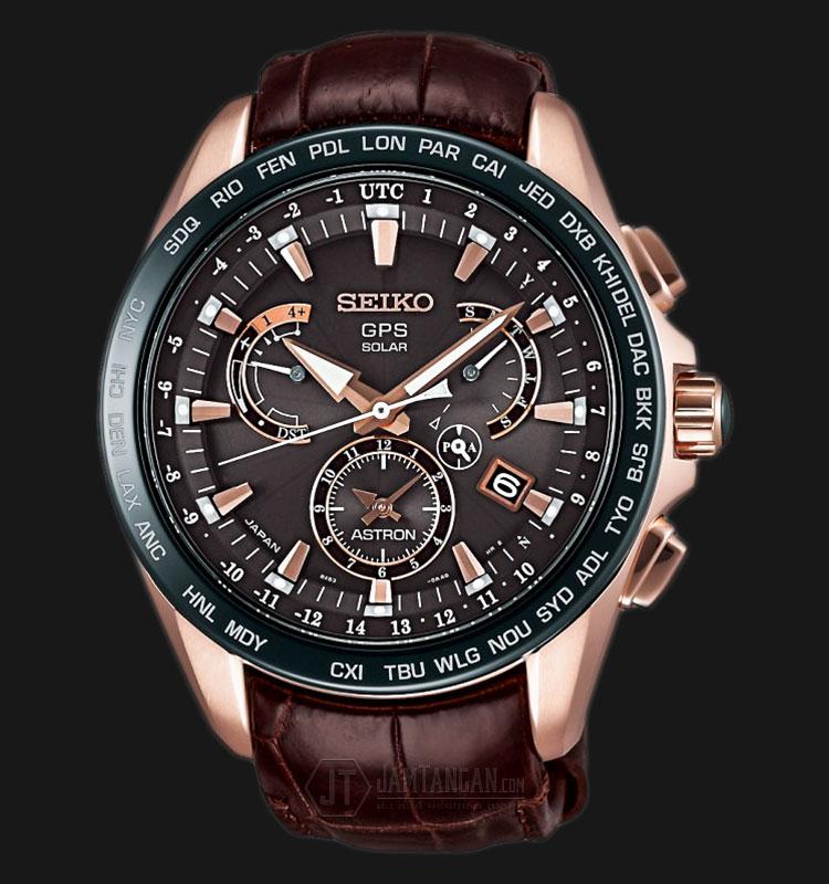 Seiko Astron SSE060J1 GPS Solar 8X Series Novak Djokovic 2015 Limited Edition Machtwatch