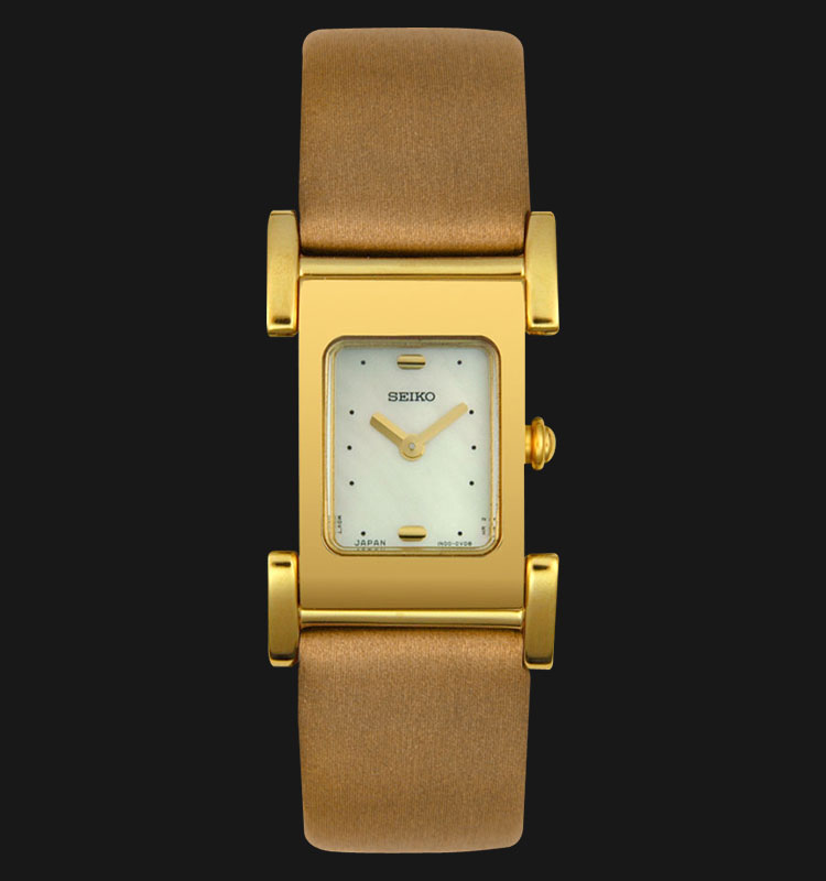 Seiko Ladies SUJD92 Mother Of Pearl Dial Leather Strap Machtwatch