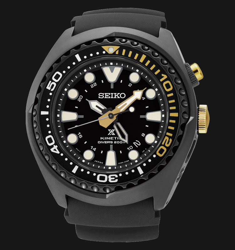 Seiko Prospex SUN045P1 Kinetic GMT 50th Anniversary Diver Limited Edition Machtwatch