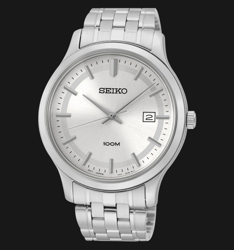 Seiko Classic SUR141P1 Silver Dial Stainless Steel Machtwatch