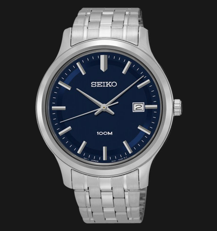 Seiko Classic SUR143P1 Blue Dial Stainless Steel Machtwatch