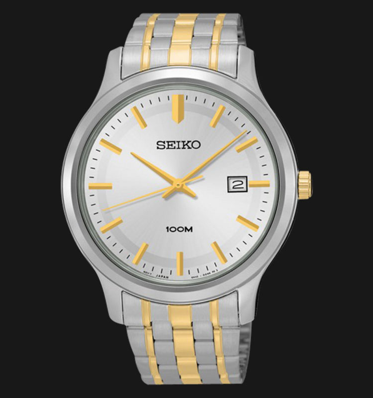 Seiko Classic SUR147P1 Silver Dial Two Tone Stainless Steel Machtwatch