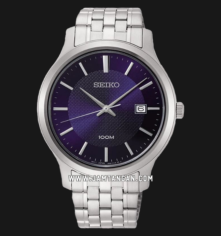 Seiko Neo SUR291P1 Classic Blue Dial Stainless Steel Strap Machtwatch