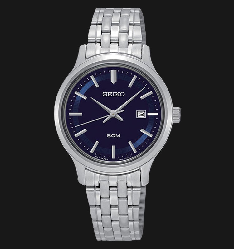 Seiko Classic SUR797P1 Blue Dial Stainless Steel Machtwatch