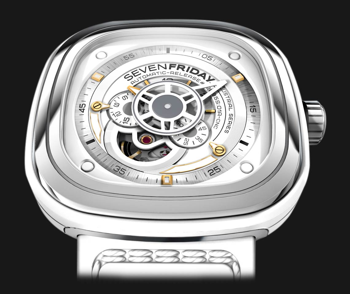 SEVENFRIDAY P1-2 Bright - Industrial Essence Machtwatch