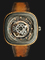 SEVENFRIDAY P2B/05 Batik Indonesia Limited Edition Series Automatic Brown Leather Strap Thumbnail