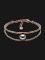 Skagen Jewelry SKJ1141791 Agnethe Rose Gold Tone Grey Pearl Bracelet Thumbnail