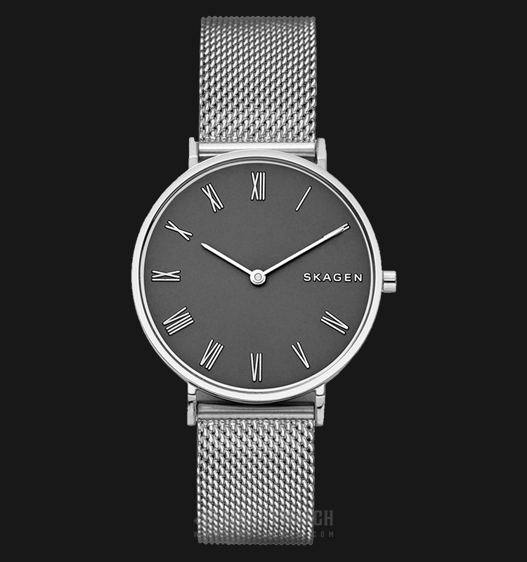 Skagen Hald SKW2677 Ladies Black Dial Stainless Steel Strap Machtwatch