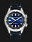 Spinnaker SP-5062-03 Vintage Bradner Men Blue Dial Black Leather Strap Thumbnail