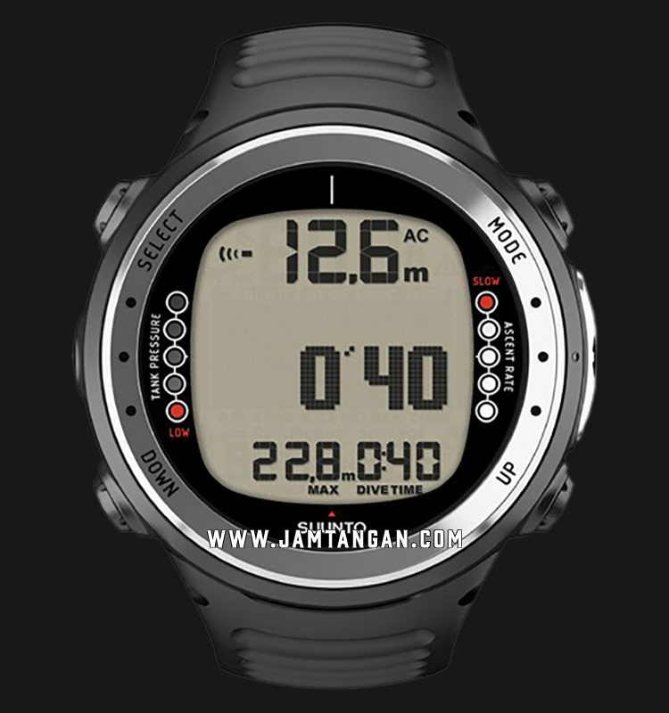 Suunto SS016824000 D4I Digital Dial Black Rubber Straps Machtwatch