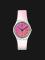 Swatch GE719 Ultrafushia Ladies Pink Dial White Rubber Strap Thumbnail