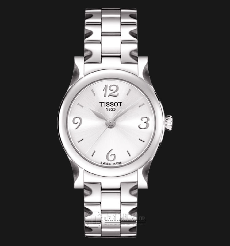 TISSOT Stylis-T Classic Silver Dial Stainless Steel T028.210.11.037.00 Machtwatch