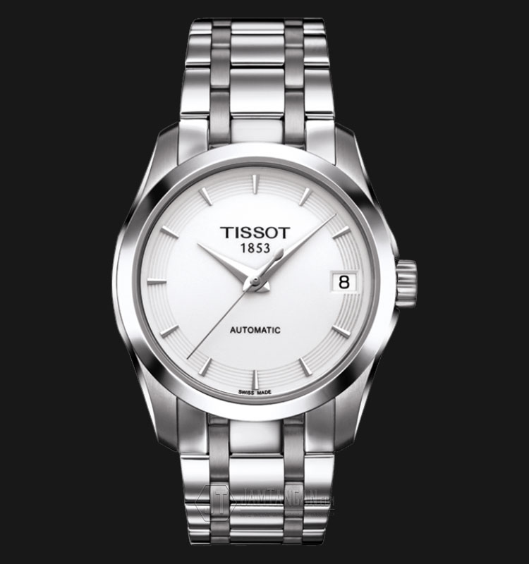 TISSOT Couturier Automatic Silver Dial Stainless Steel T035.207.11.011.00 Machtwatch