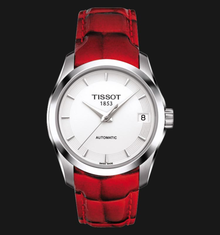TISSOT Couturier Automatic Lady T035.207.16.011.01 Machtwatch
