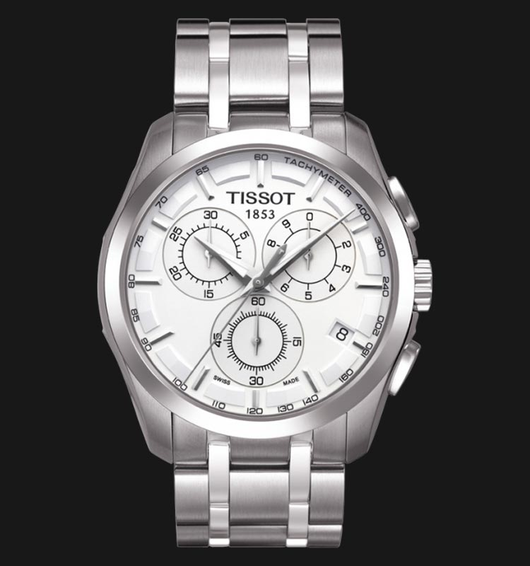 TISSOT Couturier Chronograph T035.617.11.031.00 Machtwatch