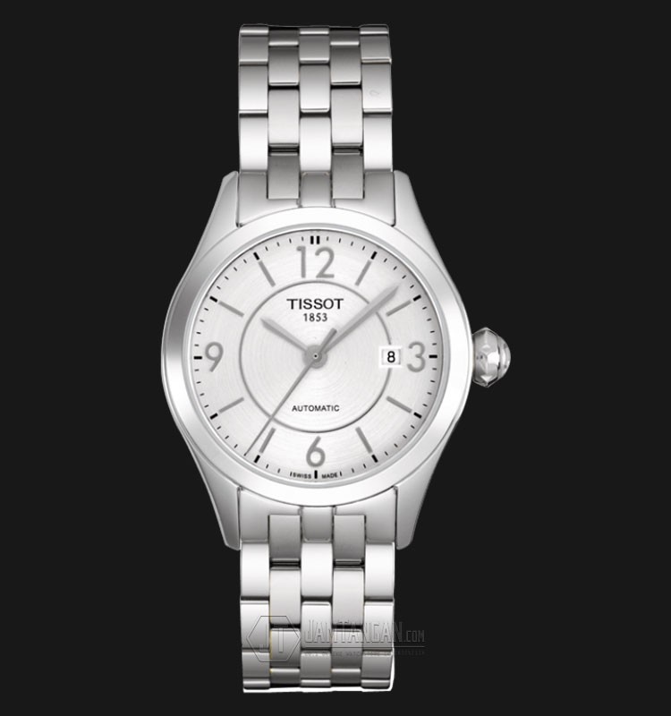 TISSOT T-One Bracelet Automatic Silver Dial Stainless Steel T038.007.11.037.00 Machtwatch