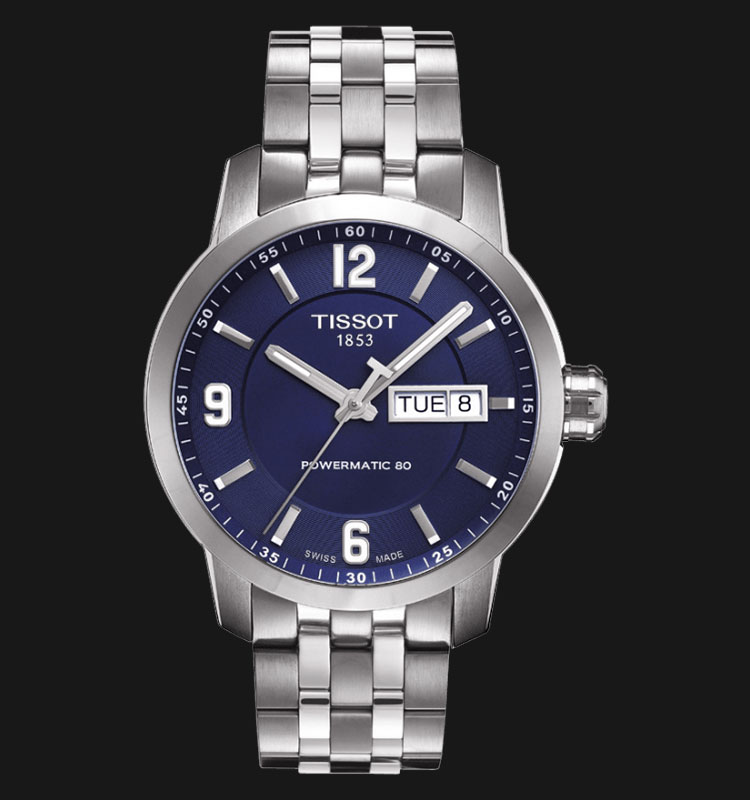 TISSOT PRC 200 Automatic Gent Stainless Steel 200M T055.430.11.047.00 Machtwatch