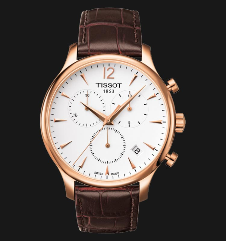 TISSOT Tradition Chronograph T063.617.36.037.00 Machtwatch