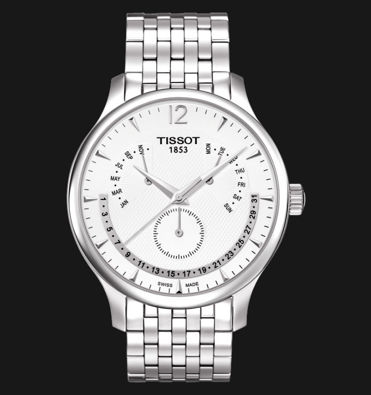 TISSOT Tradition Perpetual Calendar T063.637.11.037.00 Machtwatch