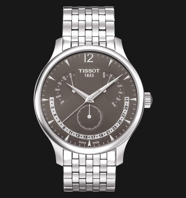 TISSOT Tradition Perpetual Calendar T063.637.11.067.00 Machtwatch