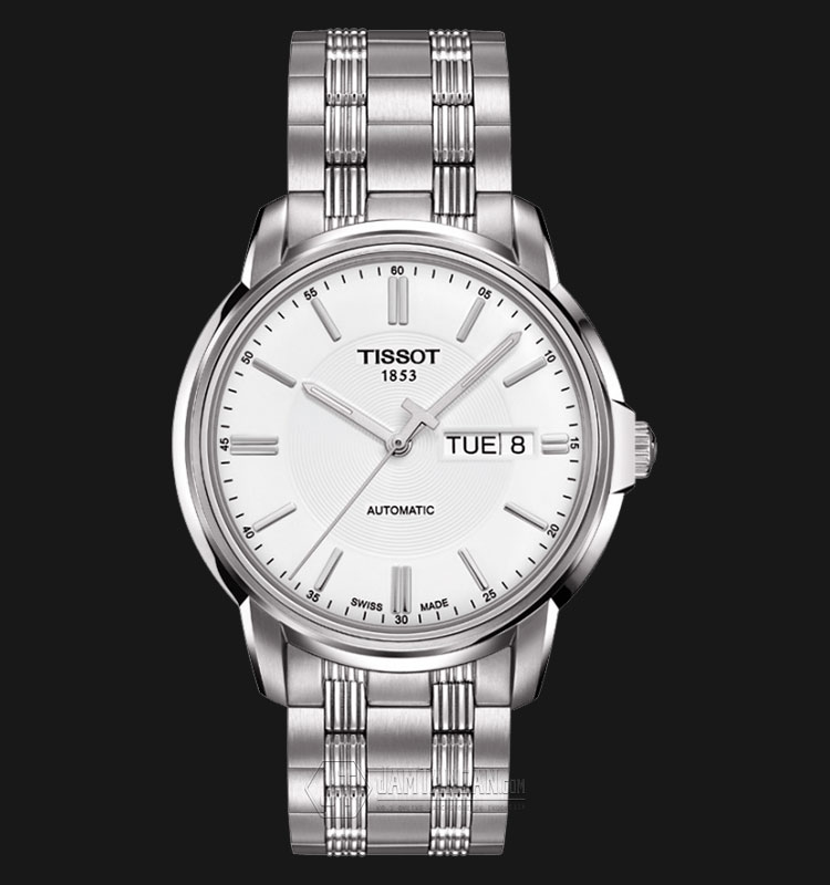 TISSOT Automatic III White Dial Stainless Steel T065.430.11.031.00 Machtwatch