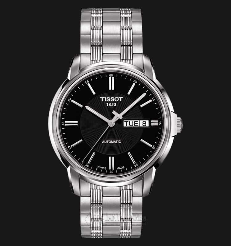 Tissot Automatic III Black Dial Stainless Steel T065.430.11.051.00 Machtwatch