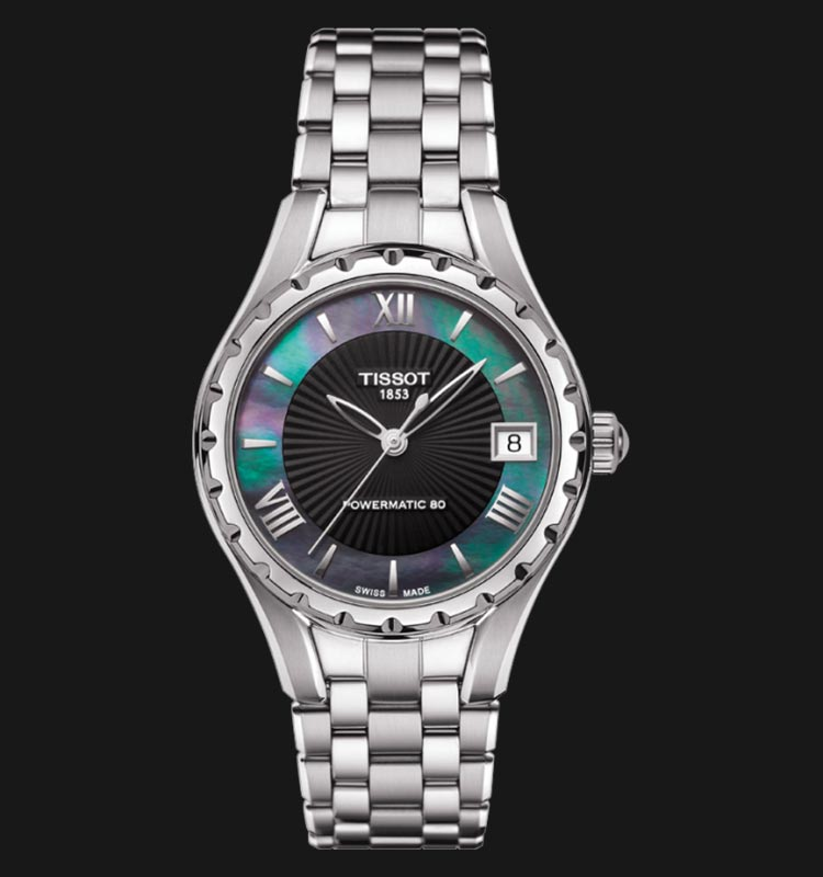 TISSOT Lady 80 Automatic T072.207.11.128.00 Black Mother Of Pearl Dial Machtwatch