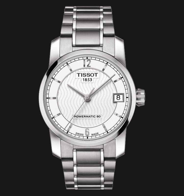 TISSOT Titanium Automatic Lady T087.207.44.037.00 Machtwatch