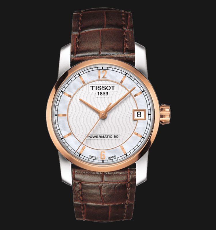 TISSOT TITANIUM AUTOMATIC LADY T087.207.56.117.00 Machtwatch