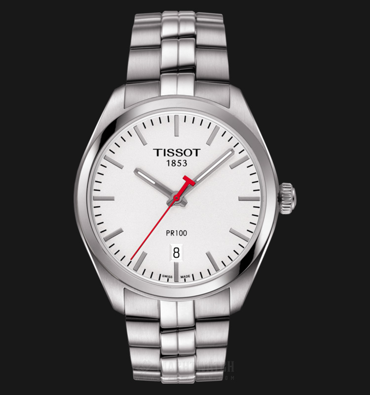 Tissot PR 100 NBA Special Edition T101.410.11.031.01 Silver Dial Stainless Steel Strap Machtwatch