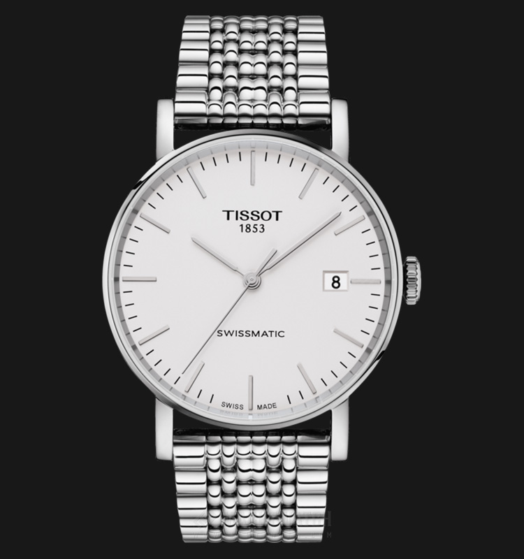 Tissot Swissmatic T109.407.11.031.00 Silver Dial Stainless Steel Machtwatch