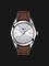 TISSOT Gentleman T127.410.16.031.00 Men Silver Dial Brown Leather Strap Thumbnail