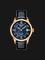 Tissot Le Locle T41.6.423.96 Automatic Blue Mother of Pearl Dial Black Leather Strap Thumbnail