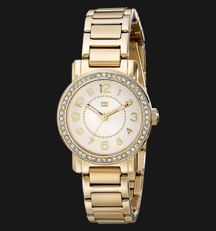 Tommy Hilfiger 1781477 Gold Plated Stainless Steel Machtwatch