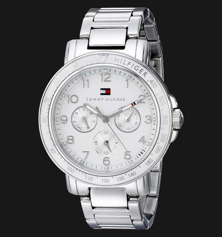 Tommy Hilfiger 1781515 Sophisticated Sport Analog Display Quartz Silver Watch Machtwatch