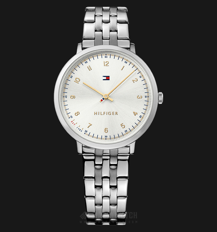 Tommy Hilfiger 1781762 Ladies Cream Dial Stainless Steel Machtwatch