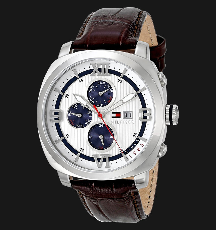 Tommy Hilfiger 1790968 Sport Luxury Multi Eye SS Case Blue Accents Machtwatch