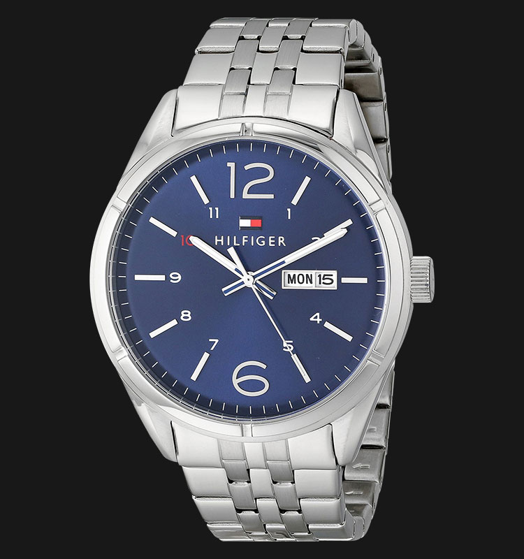 Tommy Hilfiger 1791061 Blue Dial Stainless Steel Bracelet Machtwatch