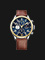 Tommy Hilfiger 1791137 Stainless Steel Brown Leather Strap Thumbnail