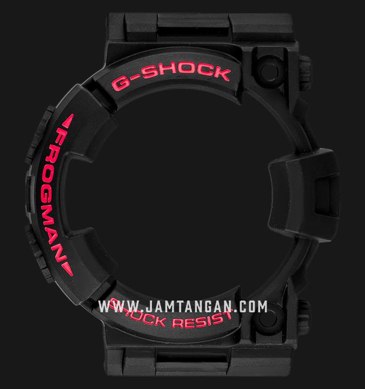 Bezel Casio G-Shock GWF-T1030A-1 Black - P10427515 Machtwatch
