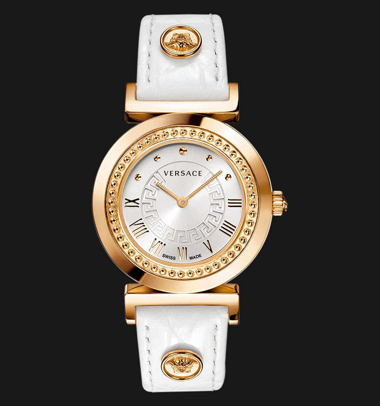 VERSACE P5Q80D001 S001 Vanity Rose Gold Ion Plated Machtwatch