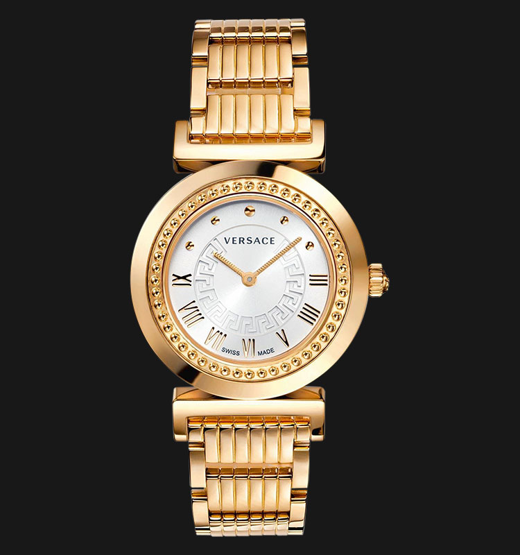 VERSACE P5Q80D001 S080 Vanity Rose Gold Ion Plated Machtwatch