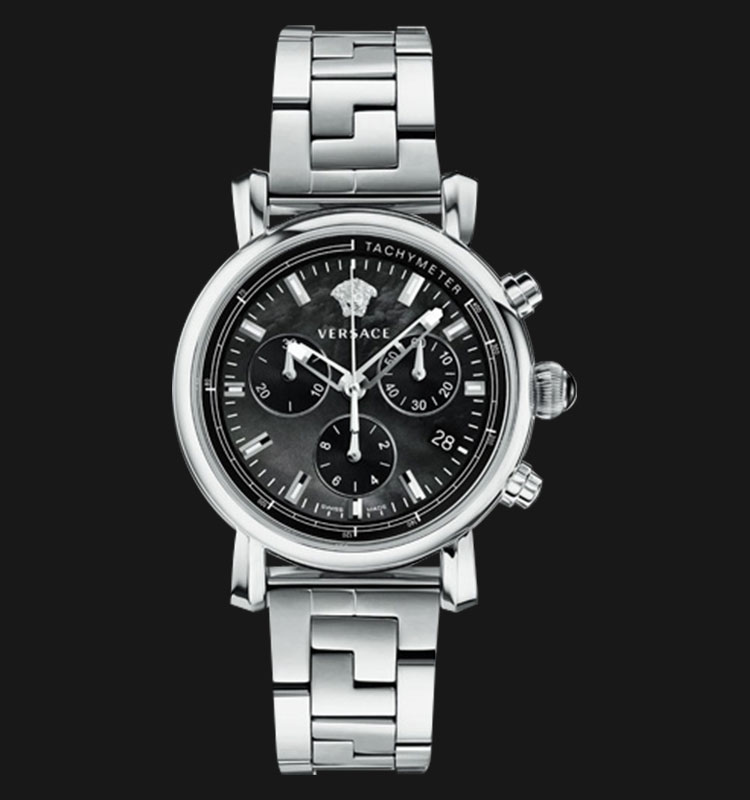 VERSACE VLB08 0014 Day Glam Stainless Steel Machtwatch