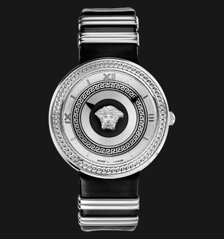 VERSACE VLC01 0014 V-METAL ICON Two-Tone Band Machtwatch
