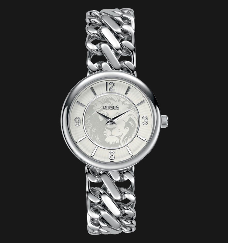 VERSUS SGF02 0013 Acapulco Stainless Steel Watch with Chain Link Bracelet Machtwatch
