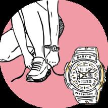 Baby G BGA-240 Stopwatch